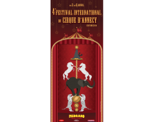 Affiche Festival International du Cirque à Annecy