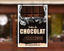 Affiche salon du chocolat