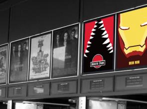 Illustration affiche de cinéma